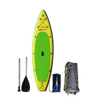 The GT126 package includes the board, 2 piece  Bravo adjustable SUP paddle, Bravo HD inflation pump, back pack and patch kit.