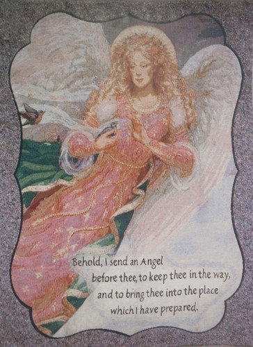 Angel Memorial Blanket/Tapestry