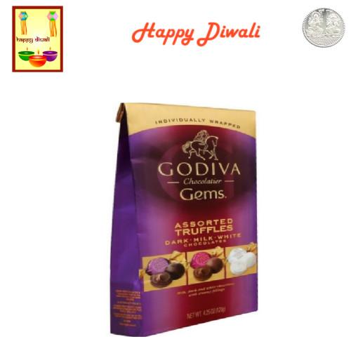 Diwali  Chocolates- Godiva Assorted Classic Truffles with Diwali Greeting Card