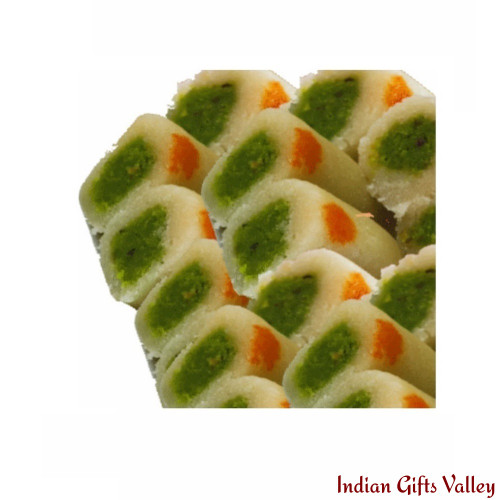 Indian  Sweets- Kaju Roll