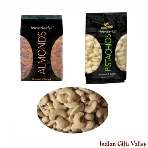 Dry Fruits - Almonds, Cashews and Pistachios