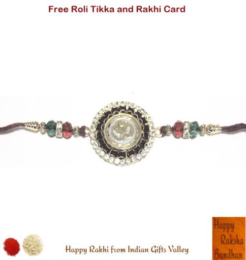 Exquisite Om Rakhi