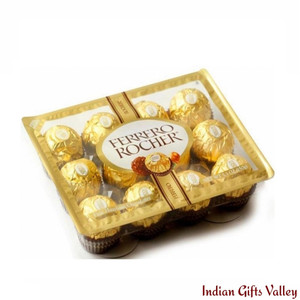 Ferrero Rocher Fine Hazelnut Chocolates 12 pc.