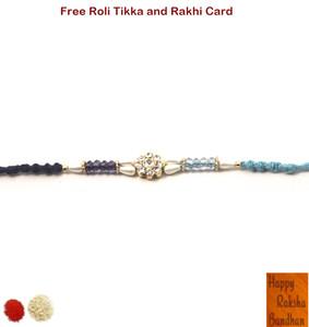 Exclusive Crystal Pearl Rakhi