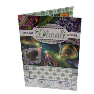 Diwali / Deepavali Festival Indian Greeting Card - Special Diwali Wishes