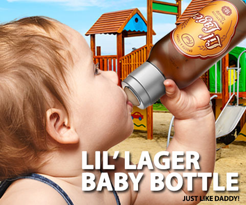 Baby Beer Bottle