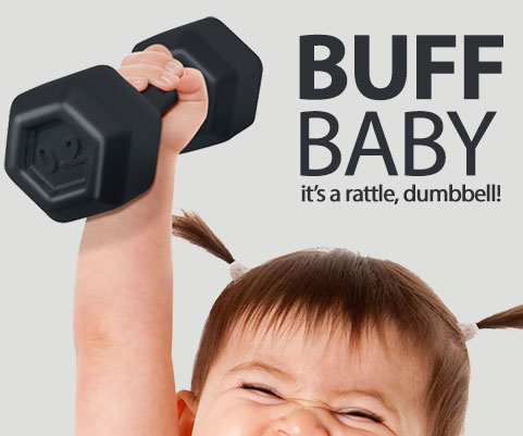 Buff Baby Dumbbell