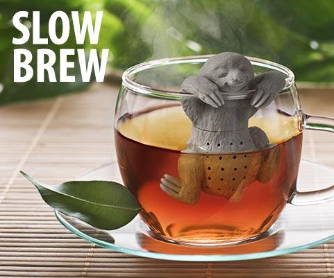 Hostess Gift Slow Brew Sloth Tea Infuser