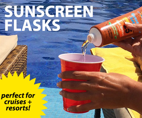 Sunscreen Flask