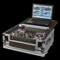 American Audio VMS4 Flip Case VMS4 Road Case w/ Lap Top Stand