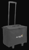 "Arriba 19"" Stackable Rolling Multi-purpose Padded DJ Equipment Bag / ACR19"