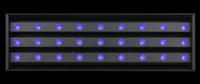 Elation UV Wash 2000 High Output High Efficiency UV LED Blacklight