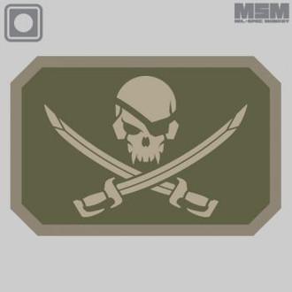 Pirate Flag PVC Patch