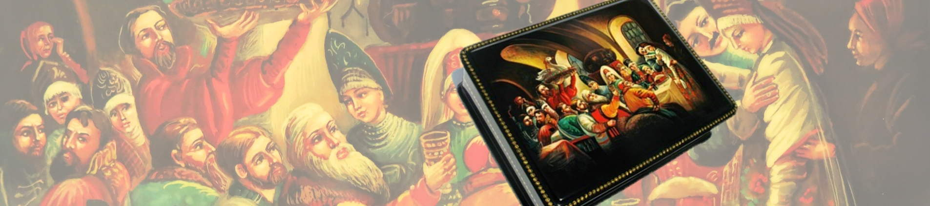 Russian collectible lacquer boxes
