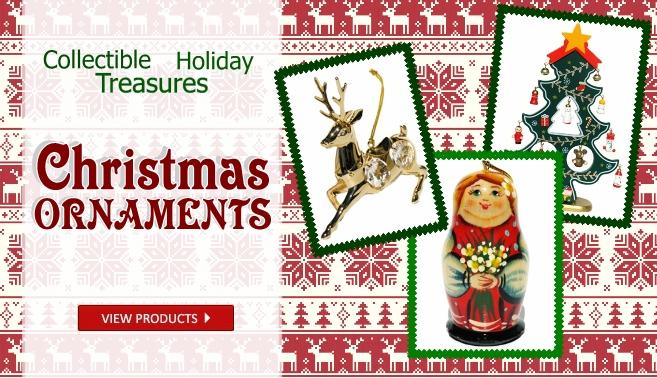 Russian handmade Christmas tree ornaments