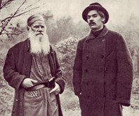 Gorky-and-Tolstoy