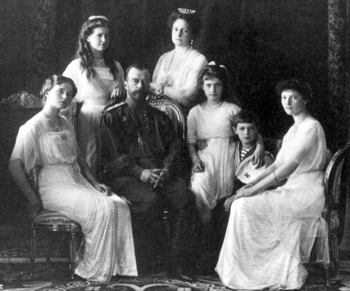 Romanov Family, circa 1911