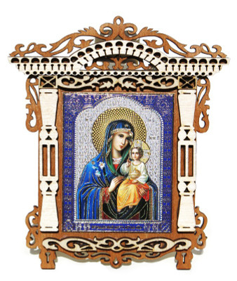 Virgin The Eternal Bloom Small Orthodox Russian Icon