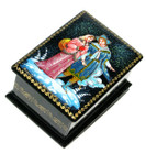 Twelve Months Palekh Miniature Lacquer Box