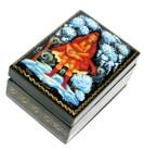 Guslar Palekh Miniature Lacquer Box