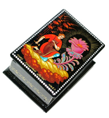 Masterpiece Palekh Miniature Lacquer Box