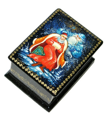 Morozko Palekh Miniature Lacquer Box