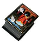 Vasilissa Miniature Palekh Lacquer Box