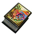 Russian Legends Miniature Mstera Lacquer Box