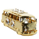 Van Swarovski Crystals 24K Gold Ornament