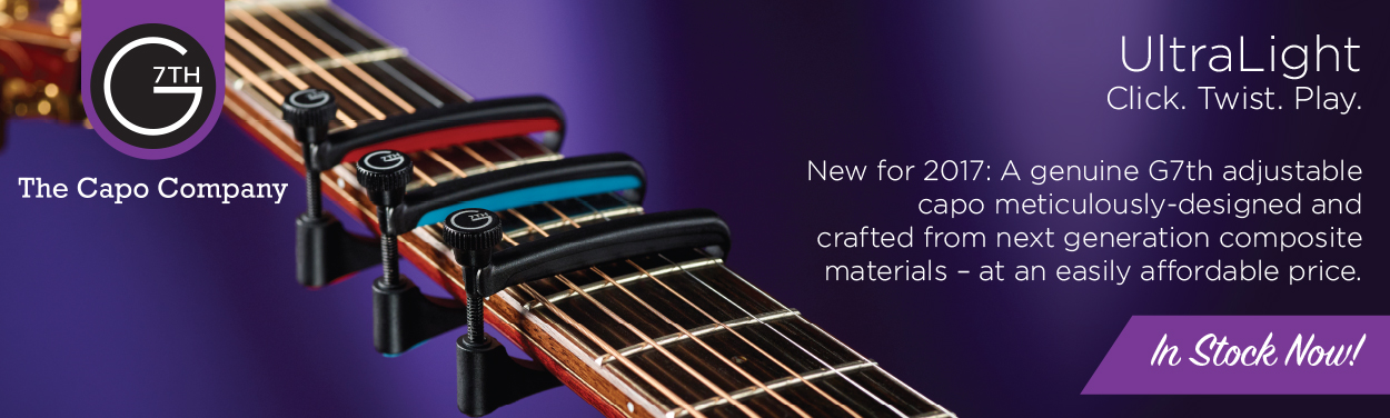 New G7th Ultralight Capos