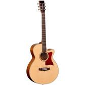 Tanglewood TW45EGFPP  Sundance Elegance Super Folk C/E Acoustic Guitar
