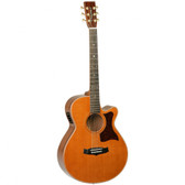 Tanglewood TW45HE  Heritage Super Folk C/E Acoustic Guitar