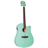 Tanglewood TWDBTDCESGR  Discovery Dreadnought C/E Surf Green