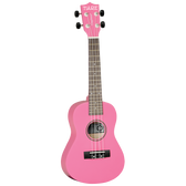 Tanglewood Concert Uke Pack Hot Pink