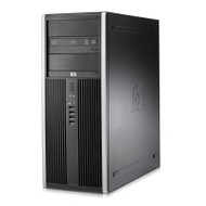 HP 8200 Elite TWR Core i7 3.40GHz 4GB RAM 500GB HDD DVD-RW Windows 10 Pro