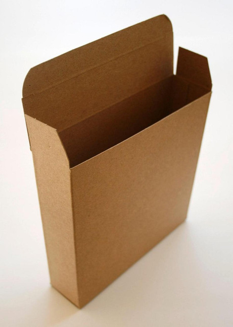 Brown Kraft Boxes DIY - Perfect with Twine or Deco Tape - Packaging - 6 x 1.5 x 6 Inches