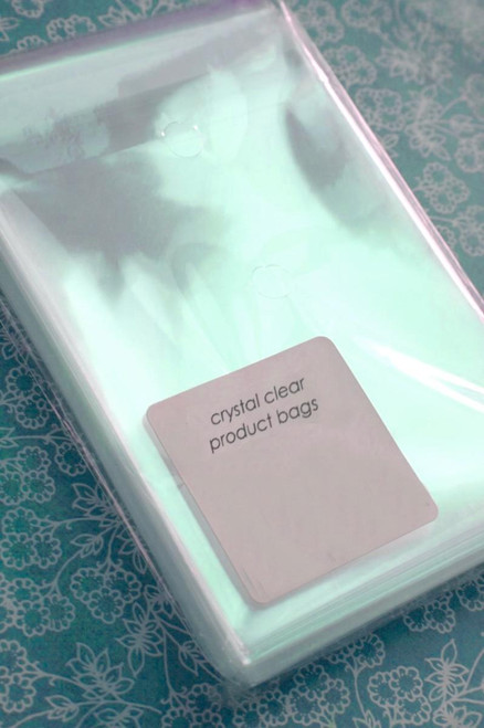 Ultra Clear Bags - Acid and Lignin Free - 4 13/16 x 6 3/16 Inches for A6 Card/Postcard
