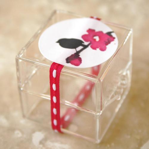 Tiny Clear Acrylic Boxes