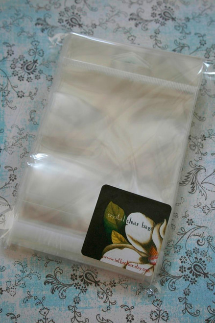 Ultra Clear Bags - Acid and Lignin Free - 4 inch x 4 inch plus Hanging Tab