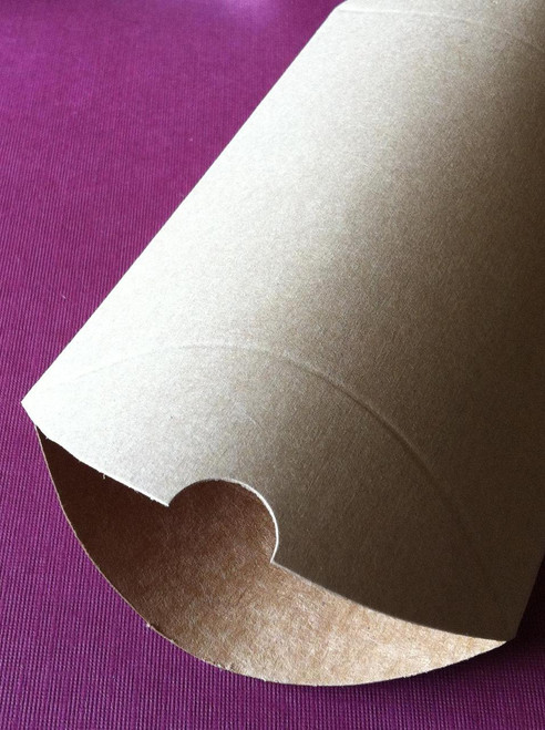 Pillow Boxes - Large - Brown Kraft - 7 x 5 1/2 x 2 Inches