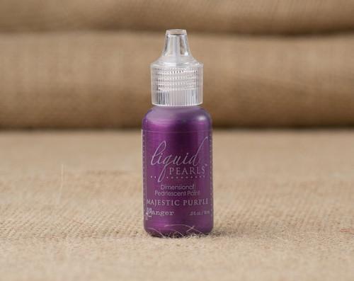 Tim Holtz Ranger Liquid Pearl Paints - Majestic Purple