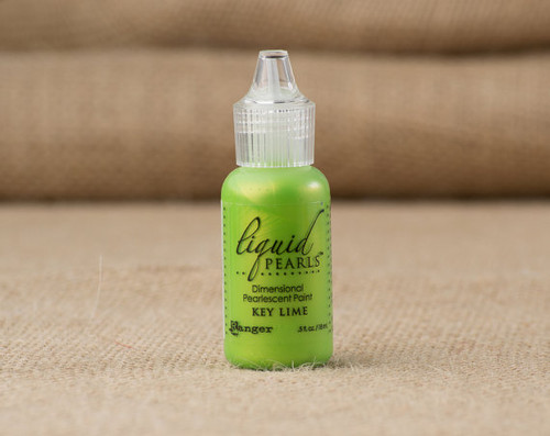 Tim Holtz Ranger Liquid Pearl Paints - Key Lime