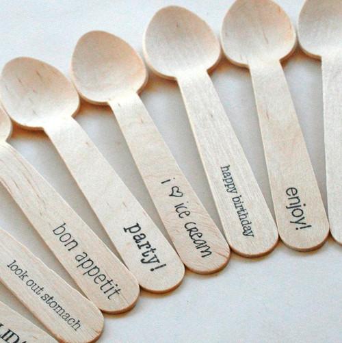 Wooden Utensils - Eco Natural - Samples