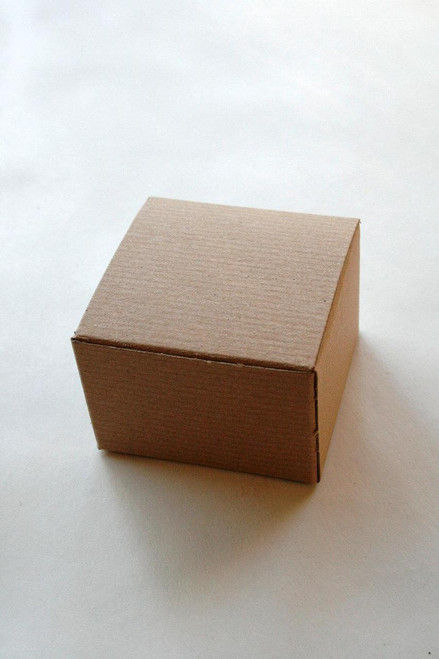 Brown Kraft Gift Boxes  - 5 x 5 x 3.5 Inches