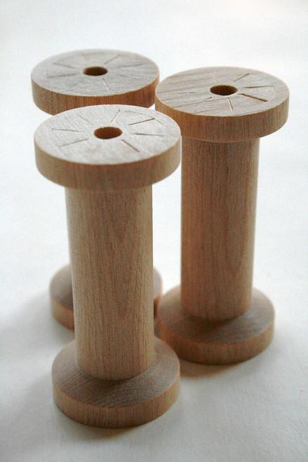 Large Wooden Spools - Natural Wood Thread Spools