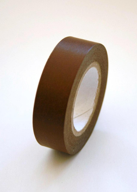 Washi Tape - 15mm - Cocoa Brown - No. 10