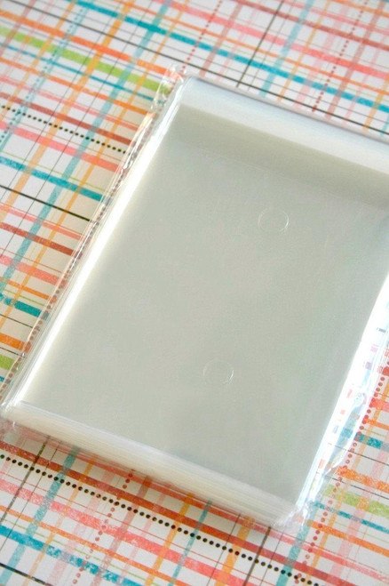 Ultra Clear Bags - Acid and Lignin Free - 5 x 6 inches