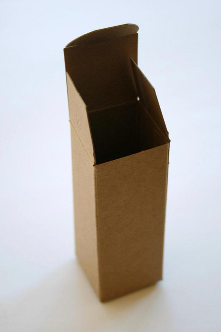 Brown Kraft Boxes DIY - Perfect with Twine or Deco Tape - Packaging - 1 1/2 x 1 1/2 x 4 Inches
