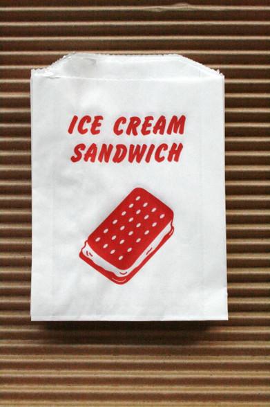 ice cream sandwich bags