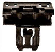 Gm Door Panel Clip Head Size: 16.5mm x 25mm Stem Length: 13mm Black Finish Chevrolet Colorado, Silverado, Suburban & Tahoe and GMC Canyon, Sierra & Yukon 2015 - On GM OEM# 11547446 10 Per Box